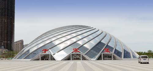 Yujiabao station transport hub supporting municipal public works