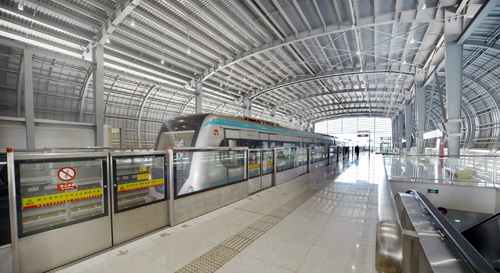 Tianjin South Railway Station Traffic engineering supporting mechanical and electrical installation project